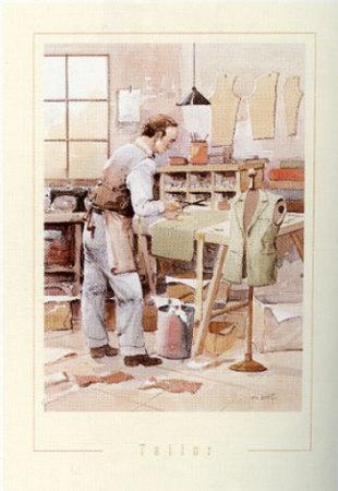 Tailor Art Print