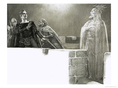 the ghost of hamlets father Hamlet's father: ghost or from william shakespeare's hamlet where three officers of the watch witness the ghost of hamlet's father haunting the castle of.