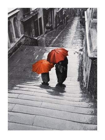 Bristol Rain, c.1954 - Art Print