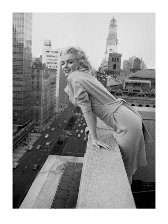 Marilyn Monroe at the Ambassador Hotel, New York, c.1955 Art Print