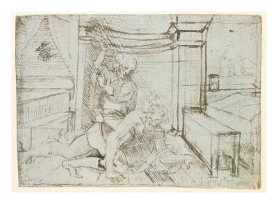 Leonardo da Vinci - Aristotle and Phyllis Giclee Print na ...