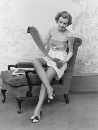 Nylon stockings 50s foot fetish lady cheyenne de muriel - 3 part 2