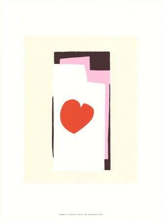 The Heart VII - Serigraph