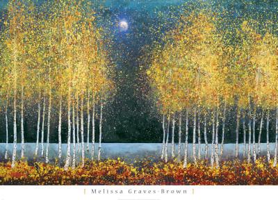Blue Moon - Art Print