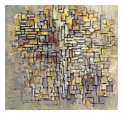 Mondrian: Composition, 1913 Giclee Print
