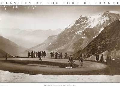 Snow on the Galibier, c.1924 Art Print