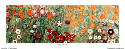 Flowery Garden Detail Art Print