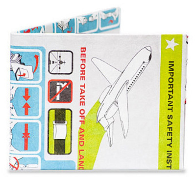 In Flight Tyvek Mighty Wallet Wallet