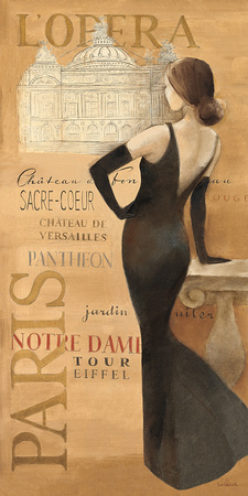 Ladies of Paris II Art Print