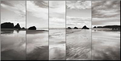 Tides on Bandon Beach - Mounted Print