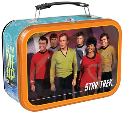 Star Trek Large Tin Lunch Box Lunch Box