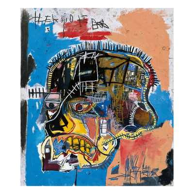 Untitled, 1981 (Basquiat Skull) Giclee Print