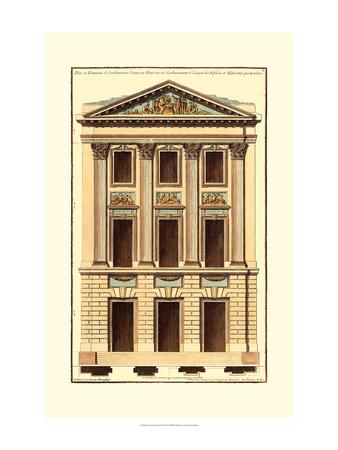 Architectural Facade I Art Print