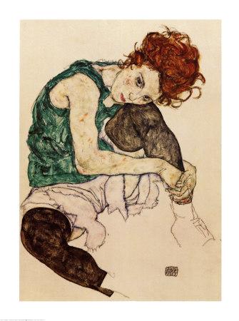 The Artist's Wife - Art Print