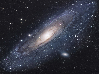 The Andromeda Galaxy Photographic Print