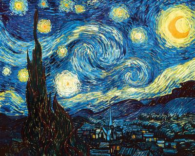 The Starry Night, June 1889 - Photographic Print