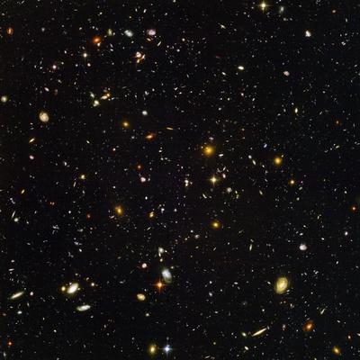 Hubble Ultra Deep Field Galaxies Photographic Print