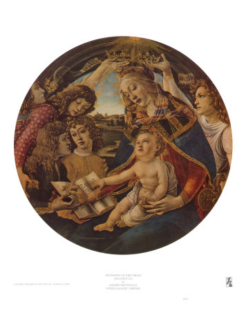 Crowning of the Virgin Art Print