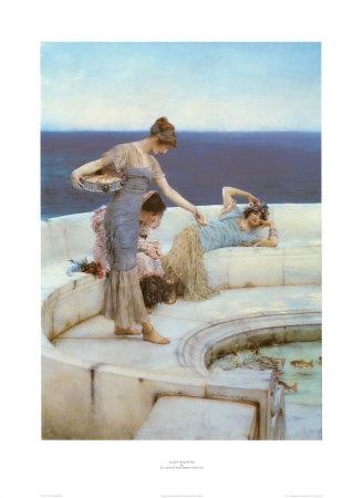 Silver Favourites, 1903 Art Print