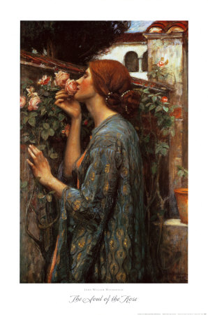 The Soul of the Rose, 1908 Art Print