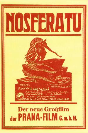 Nosferatu Movie Max Schreck 1922 Poster Print Poster