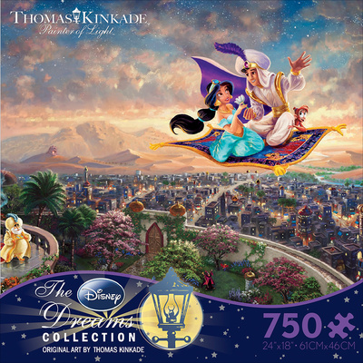 Thomas Kinkaid Disney Dreams - Aladdin 750 Piece Jigsaw Puzzle Jigsaw Puzzle