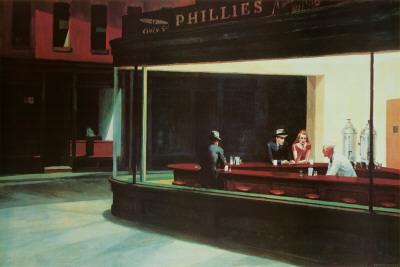 Nighthawks, c.1942 Poster