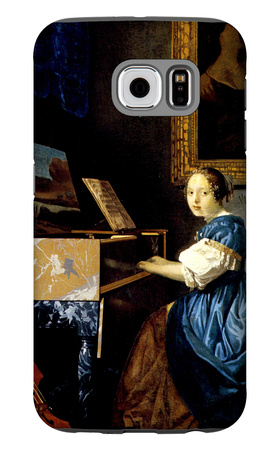 Dame on Spinet Galaxy S6 Case