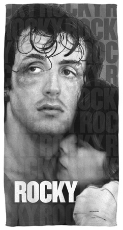 Rocky - True Love Beach Towel Beach Towel