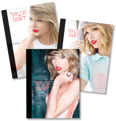 Taylor Swift Composition Notebooks - Set of 3 Journal