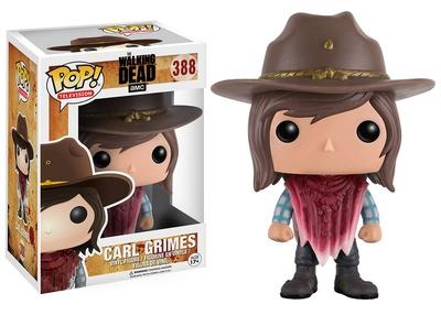 The Walking Dead - Carl w/Bandana POP Figure Toy