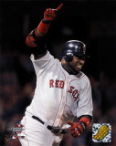 David Ortiz - Game-winning RBI single, 14th inning, Game 5, 2004 ALCS David Ortiz 2016 Action Boston Red Sox - Martinez, Boggs, Lynn, Williams, Yastrzemski, Fisk, Ortiz, Doerr, Foxx, Rice, Pesk david ortiz