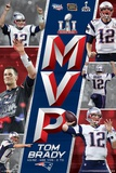 Super Bowl LI - MVP Super Bowl LI - Champions New England Patriots- T Brady 16 NFL New England Patriots Street Sign NFL: New England Patriots- Helmet Logo New England Patriots - R Gronkowski 14 NEW ENGLAND PATRIOTS - RETRO LOGO 14 Super Bowl LI - Celebration