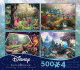 Thomas Kinkade Disney Dreams Collection 4 in 1 500 Piece Puzzle - Volume 3 The Rocketeer The Lion King (Broadway) Disney Princess- Cinderella Monsters, Inc. Disney Princess- Castle Hocus Pocus Thomas Kinkade Disney Dreams Collection 4 in 1 500 Piece Puzzle, Series 2 Thomas Kinkade Disney Dreams - The Little Mermaid 750 Piece Jigsaw Puzzle Thomas Kinkade Disney Dreams Collection 4 in 1 500 Piece Puzzle disney