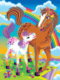 Chaser Lollipop '97 Roary '96 Hunter and Chipper Rainbow Matinee Brushstroke Unicorns Tikanni Kitten Roses Junk Food Purrscilla Forrest Rainbow Majesty Astro Blast '98 Hunter '96 Unicorn Tales Dancing Dolphins Lisa Frank