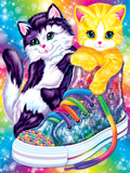 Kitten Sneakers Rainbow Reef '94 Tikanni Rainbow Matinee Spotty and Dotty Hunter and Chipper Forrest Purrscilla Skye Brushstroke Unicorns Astro Blast '98 Kitten Roses Hunter '96 Dancing Dolphins Rainbow Majesty Unicorn Tales Lisa Frank