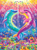 Dancing Dolphins Rainbow Majesty Unicorn Tales Lisa Frank