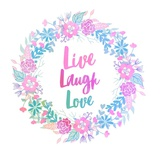 Live, Laugh, Love-Pastel Live Love Laugh Peel & Stick Wall Decals Live Laugh Love: Sunflower Live, Laugh, Love Live Laugh Love Words to Live By: Love Live Laugh Love: Sunflower Live Laugh Love - White Live Well, Love Much, Laugh Often Live Your Life III Live Every Moment Live Well-Love Often-Love Much Peel & Stick Single Sheet Live Laugh Love Square