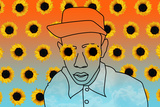 Sunflower Boy Kendrick Lamar Music Poster Be Humble hip-hop