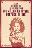 The Princess Bride - Hello. My Name Is Inigo Montoya. Princess Bride