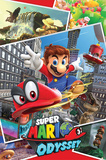 Super Mario Odyssey- Collage Batman Origins - Arkham Bats Fallout 4- Nuka Cola Pin Up Game of Thrones - You Win or You Die Nintendo - Super Mario Build a Scene Wall Decal Overwatch Characters Centred Game of Thrones Horizontal Map The Last of Us Minecraft- World video games