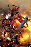 Marvel Universe - The Amazing Spider-Man Secret Wars No.1 Cover: Captain America Miles Morales: Ultimate Spider-Man No. 1: Spider-Man Marvel Comics Retro Style Guide: Spider-Man, Hulk Spider-Man Amazing Spider-Man Family No.2 Cover: Spider-Man The Amazing Spider-Man #700 Cover: Spider-Man, Venom Marvel Comics Retro: The Amazing Spider-Man Comic Book Cover No.100, 100th Anniversary Issue (aged)