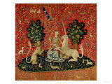 "The Lady and the Unicorn: ""Sight"" Suspense, Poster The Good Life Clinique Cheron, c.1905 Home From Home Clinique Cheron, c.1905 Peekapoo (Pekingese X Poodle) Puppy, Ginger Kitten and Sandy Lop Rabbit, Sitting Together Irises and Sleeping Cat, 1990 Paw Prints Tom & Jerry Retro Panels Cuddles (Sleeping Puppy and Kitten) Art Poster Print Dogs and Cats"