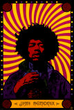 Jimi Hendrix - Psychedelic David Watercolor Portrait Miles Watercolor Red Hot Chili Peppers Rolling Stones Pink Floyd Marquee '66 Notorious Big Pink Floyd 1972 Carnegie Hall ASAP Rocky Music Poster band posters