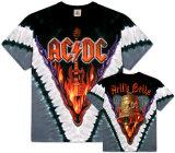 AC/DC- Hells Bells V-Dye (Front/Back) Pink Floyd - Dark side of the moon Slash - Top Hat