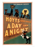 """""""A Day and a Night"""" Cats and Dogs Musical Poster Suspense, Poster Paw Prints Clinique Cheron, c.1905 Irises and Sleeping Cat, 1990 Home From Home Peekapoo (Pekingese X Poodle) Puppy, Ginger Kitten and Sandy Lop Rabbit, Sitting Together Tom & Jerry Retro Panels The Good Life Cavapoo (Cavalier King Charles Spaniel X Poodle) Puppy with Rabbit, Guinea Pig and Ginger Kitten Dogs and Cats"""