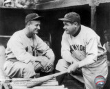 Lou Gehrig & Babe Ruth Babe Ruth & Lou Gehrig The Babe Bows Out, 1948 Babe Ruth Red Rock Cola Babe Ruth - No Fear Babe Ruth Striking Out Famous Quote Plastic Sign It's Hard to Beat a Person Who Never Gives Up -Babe Ruth Every Strike Home babe ruth
