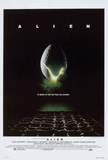Alien horror movie posters