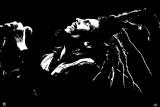 Bob Marley - B&W Bob Watercolor