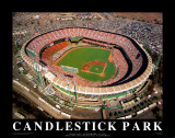 Candlestick Park - San Francisco, California AT&T Park - San Francisco, California San Francisco Giants - 2014 World Series Champions SF Dynasty San Francisco Giants Logo Sports Poster San Francisco Giants - Champions